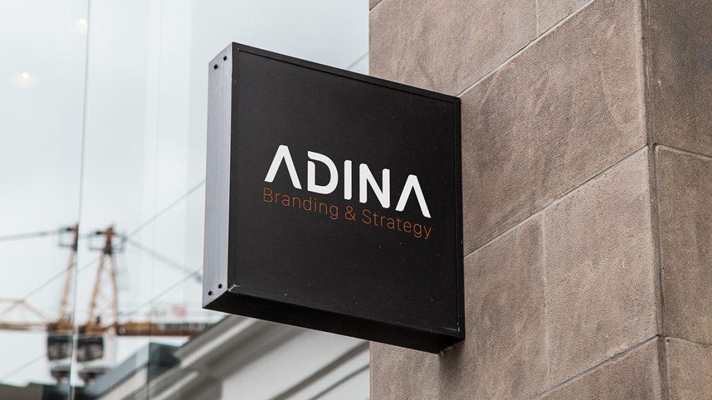 Thiet ke logo Adina 2