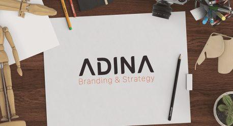 Thiet ke logo Adina 3