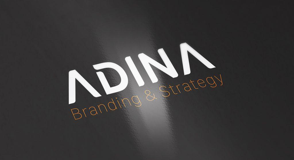 Thiet ke logo Adina 4