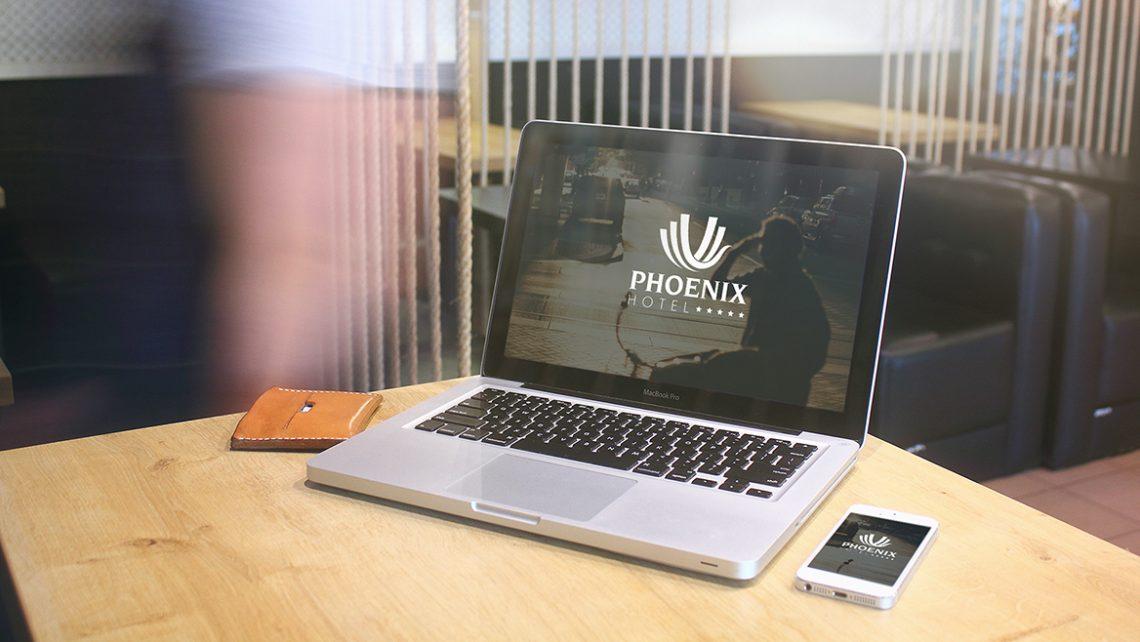 Thiet ke logo Phoenix 2