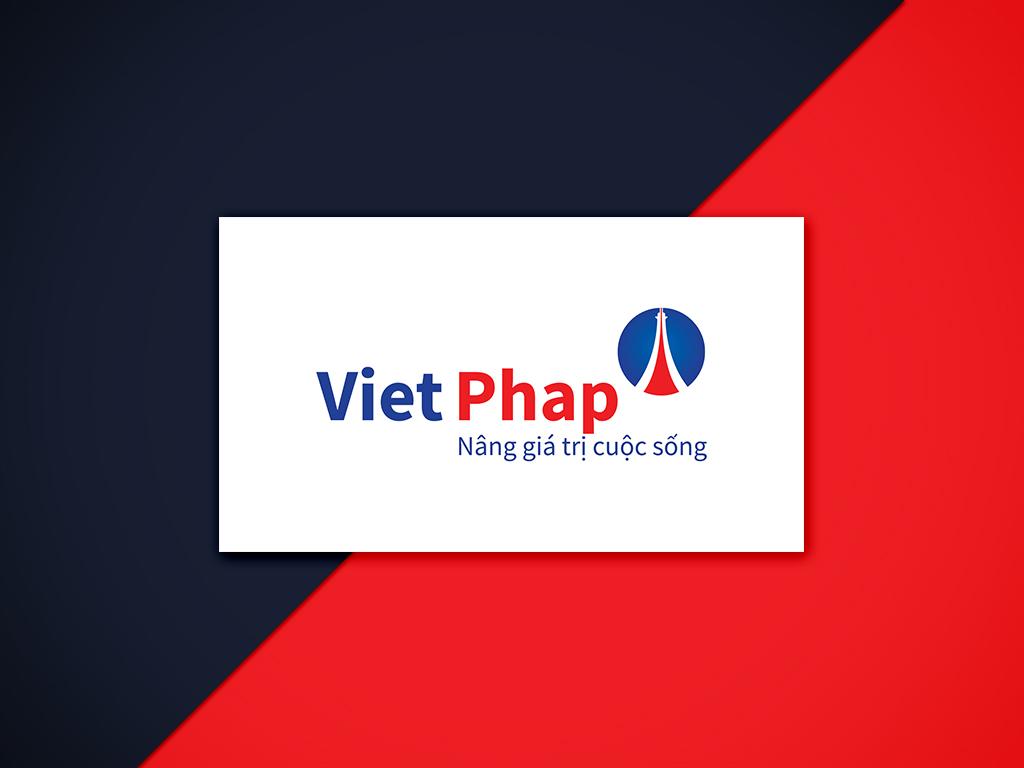 Thiet ke logo Viet phap 7