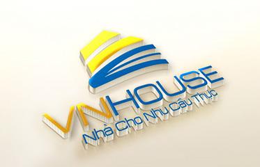 Thiet ke logo VN House