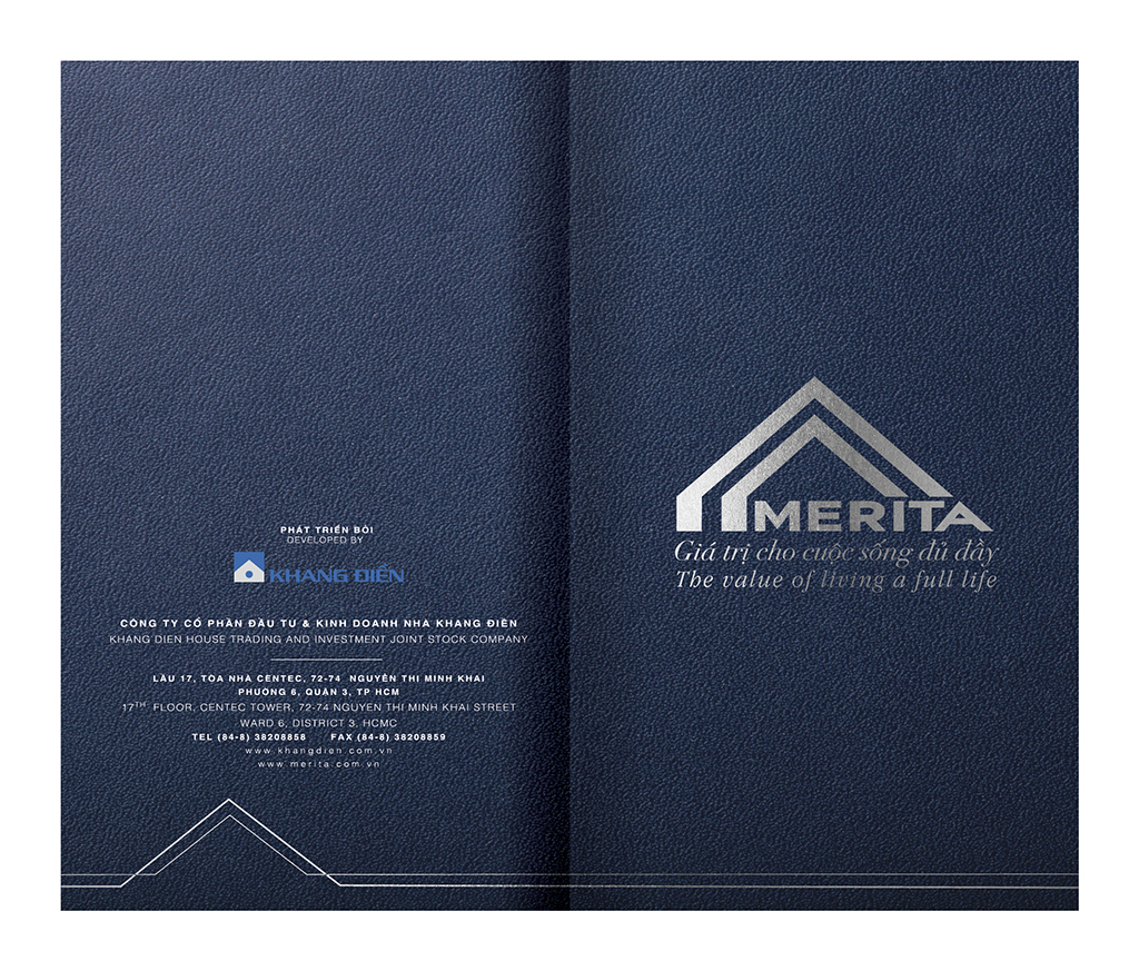 Merita Brochure print