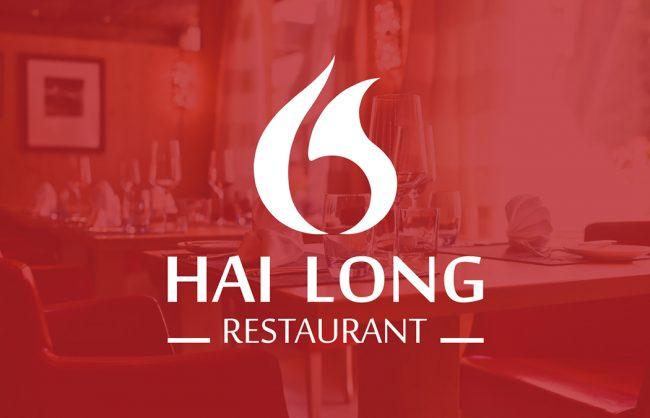 Thiet ke logo nha hang Hai Long 1