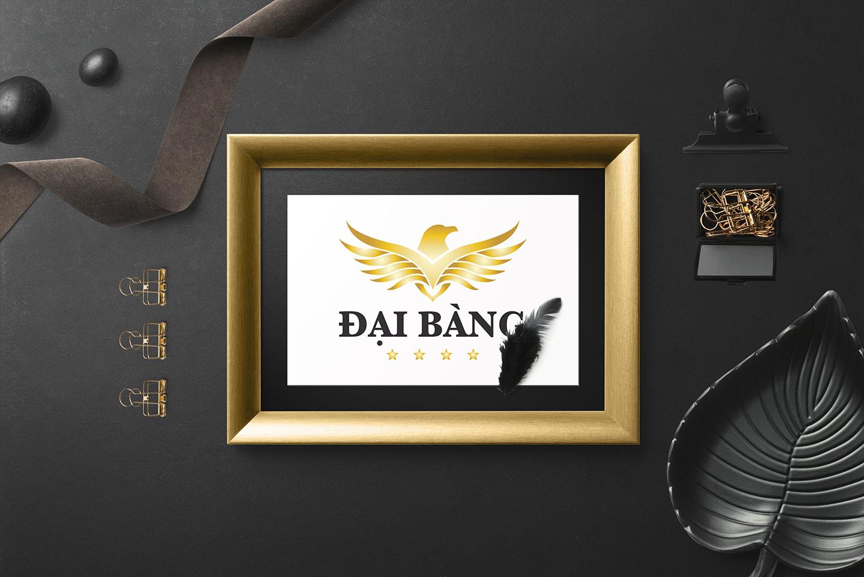 Thiet ke logo khach san Dai Bang 3