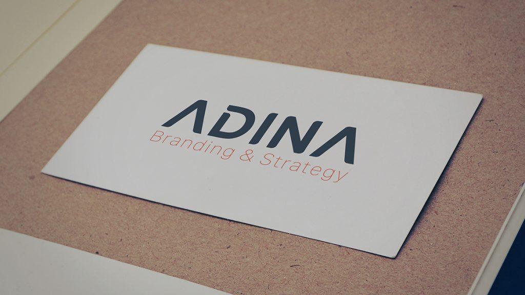 Thiet ke logo Adina 1