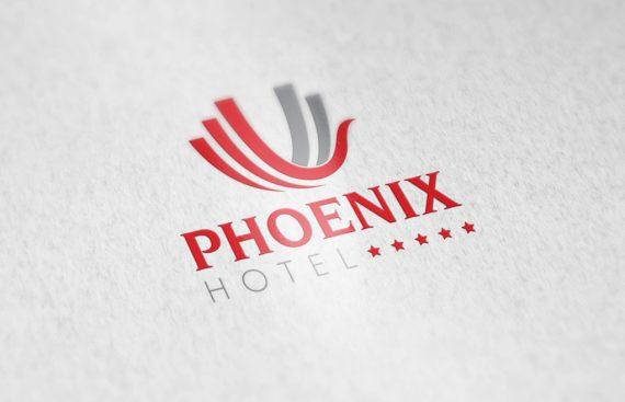 Thiet ke logo Phoenix 3