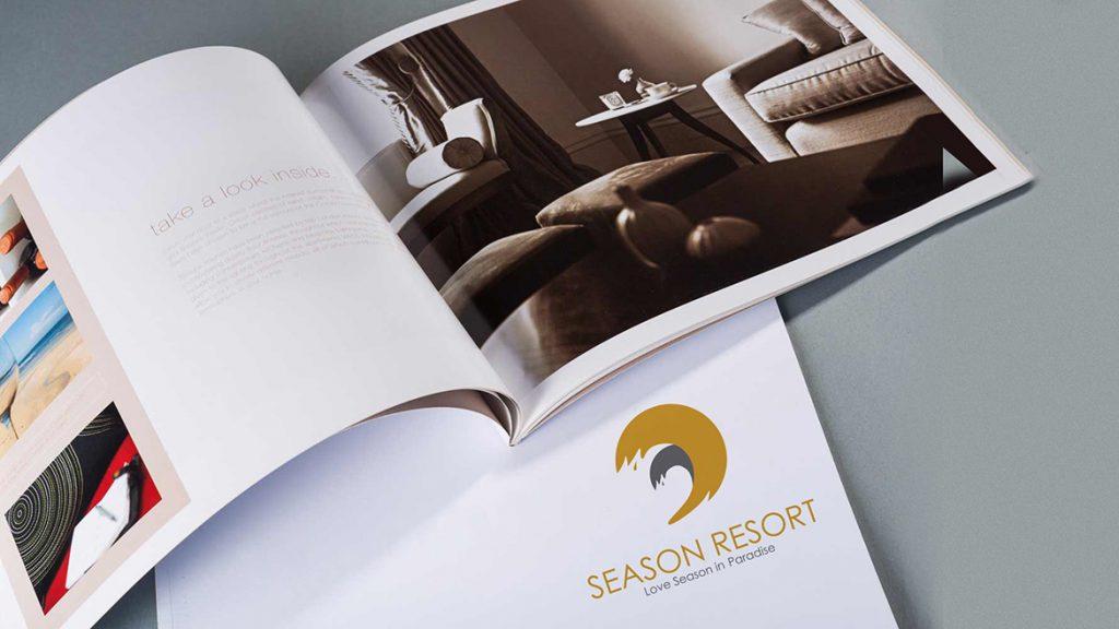 Thiet ke logo Season Resort 3