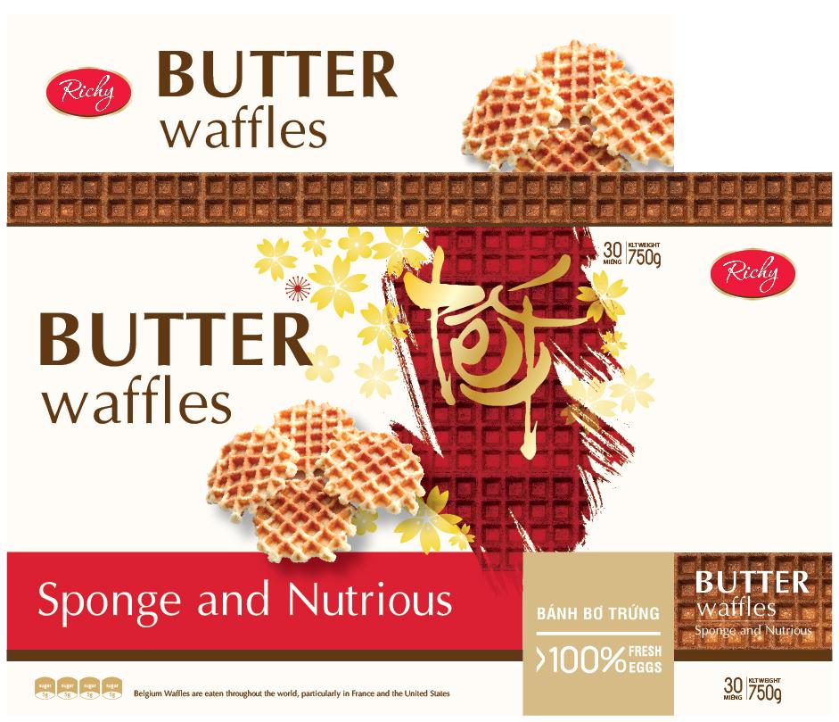 Ricky Butter waffles 1