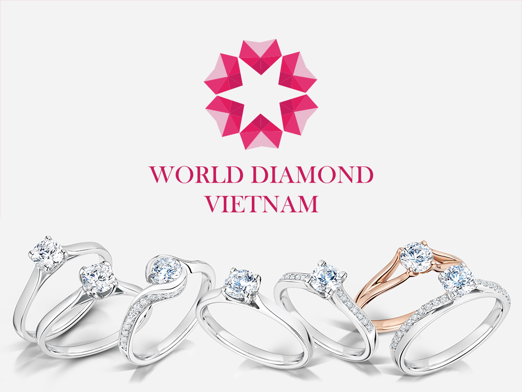 Thiet ke logo World Diamond 2