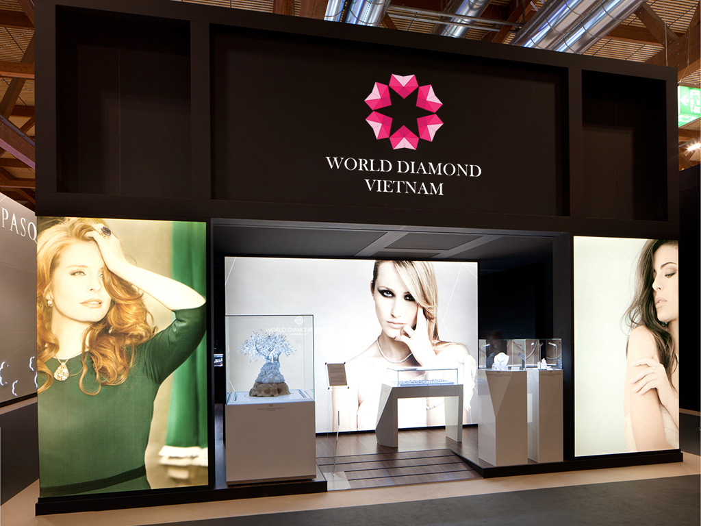 Thiet ke logo World Diamond 5