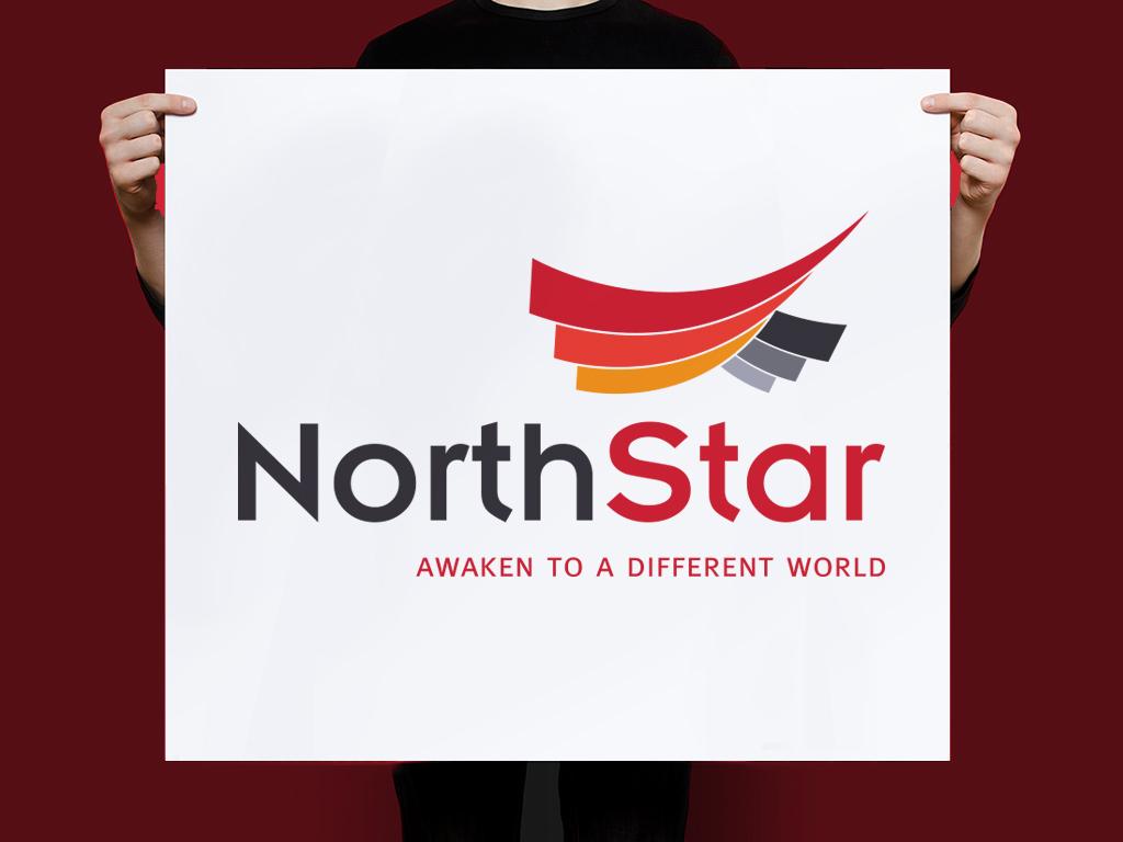 Thiet ke logo Northstar 2