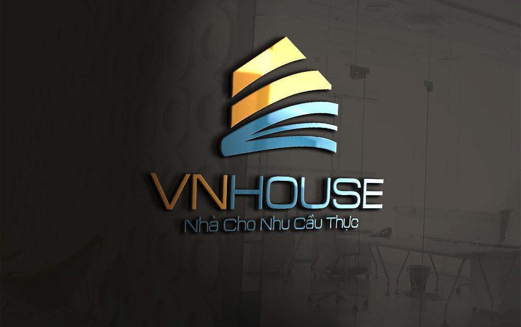 Thiet ke logo VN House 2