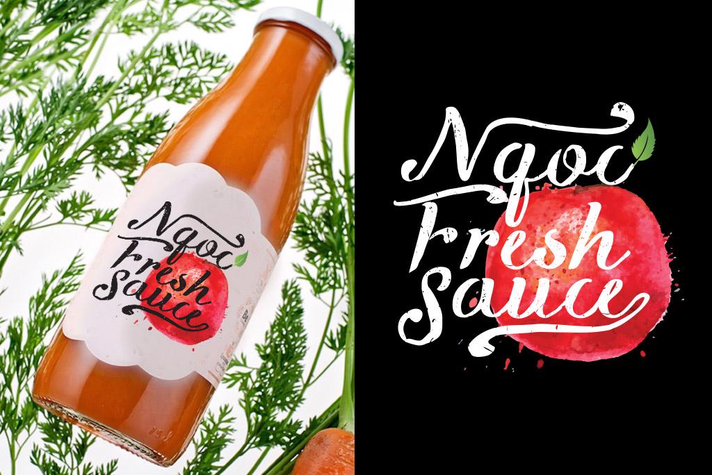 thiet-ke-logo-ngoc-fresh-sauce-3