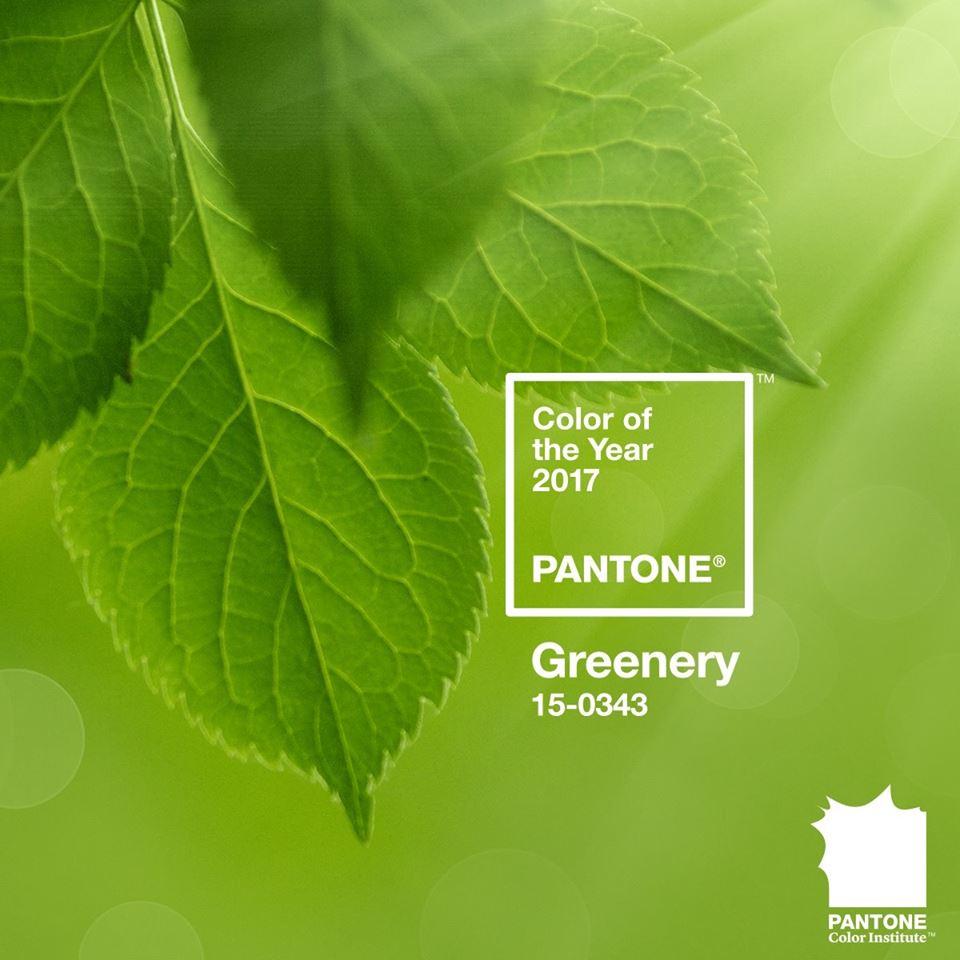 Pantone công bố màu của năm 2017