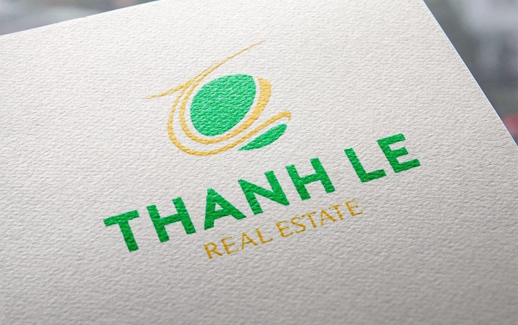 Thiet ke logo Thanh le 3