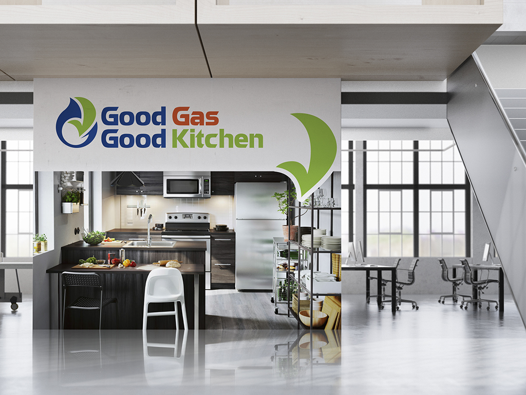 Thiet ke logo Goodgas Good Kitchen 1