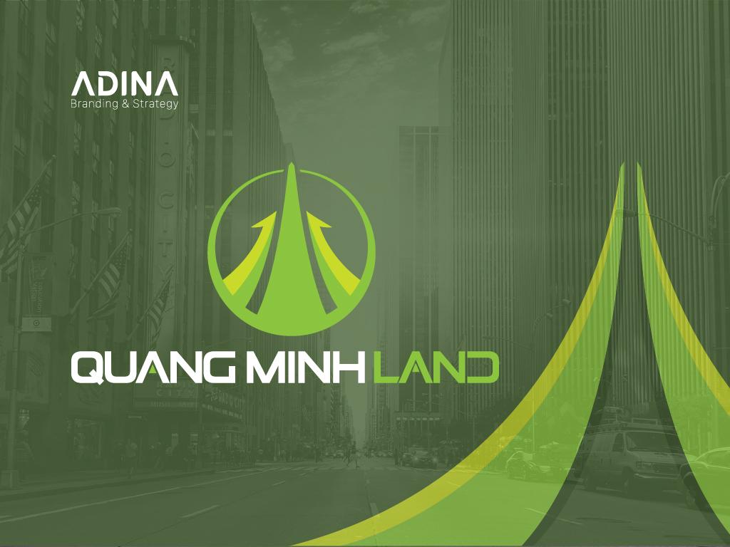 Thiet ke logo Quang Minh Land-01