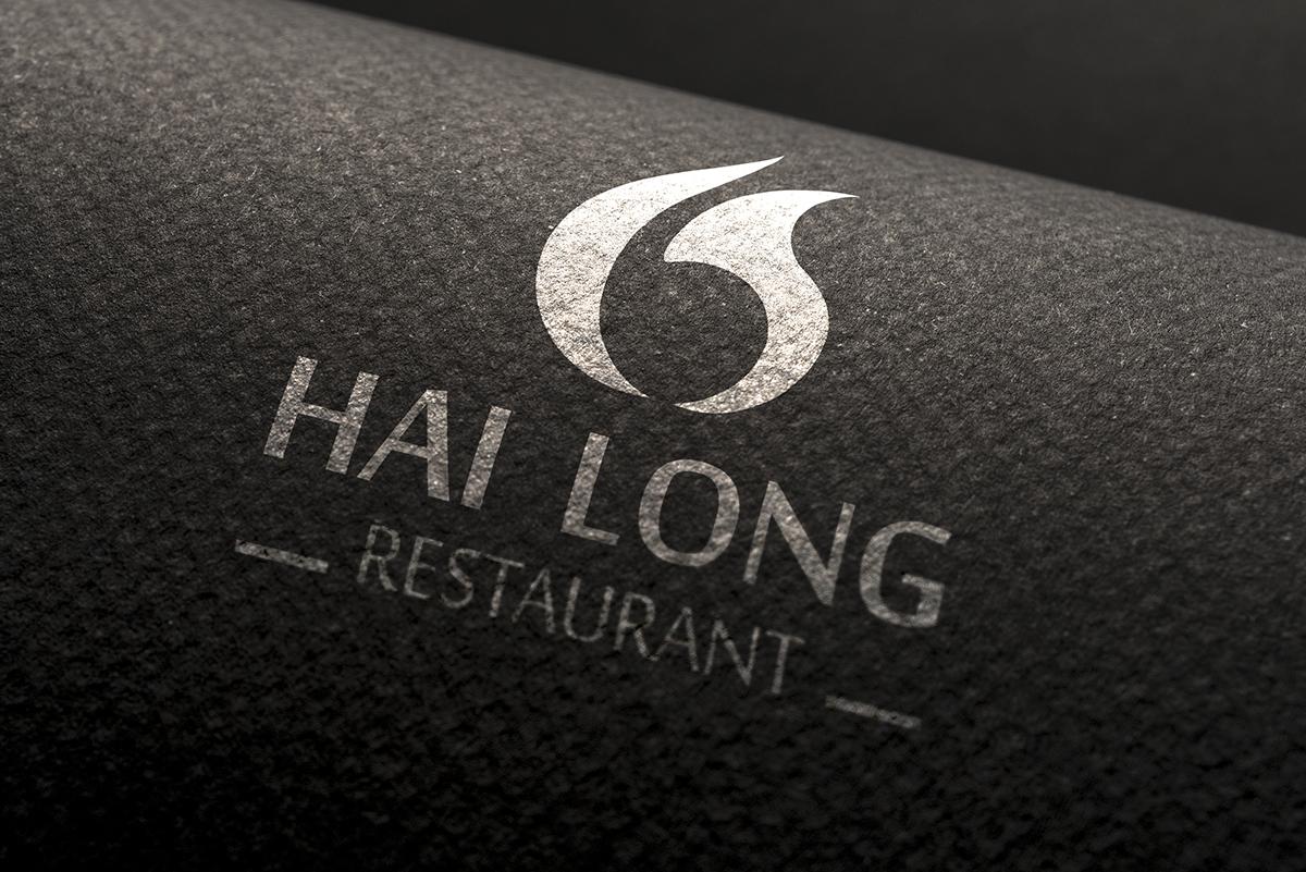 Thiet ke logo nha hang Hai Long 3