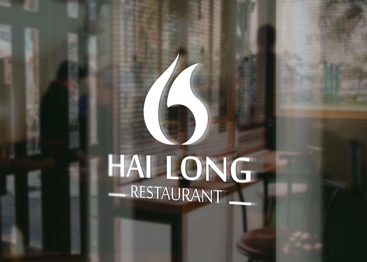Thiet ke logo nha hang Hai Long 5