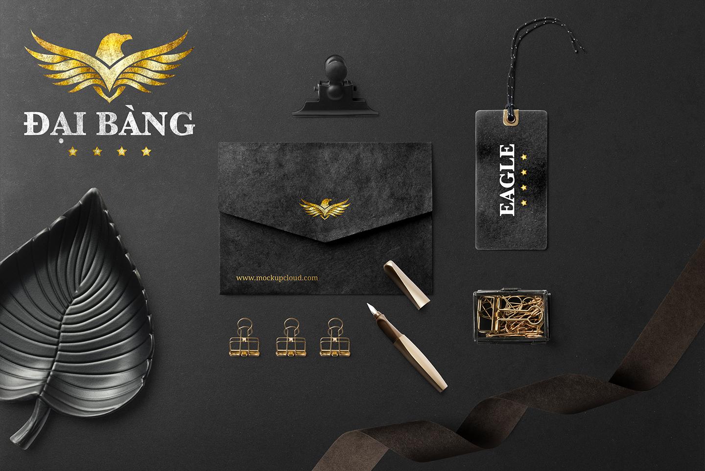Thiet ke logo khach san Dai Bang 2