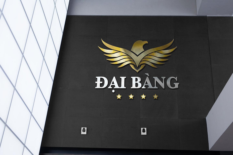 Thiet ke logo khach san Dai Bang 5