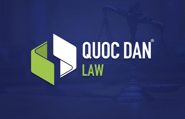Thiet ke logo Luat Quoc Dan