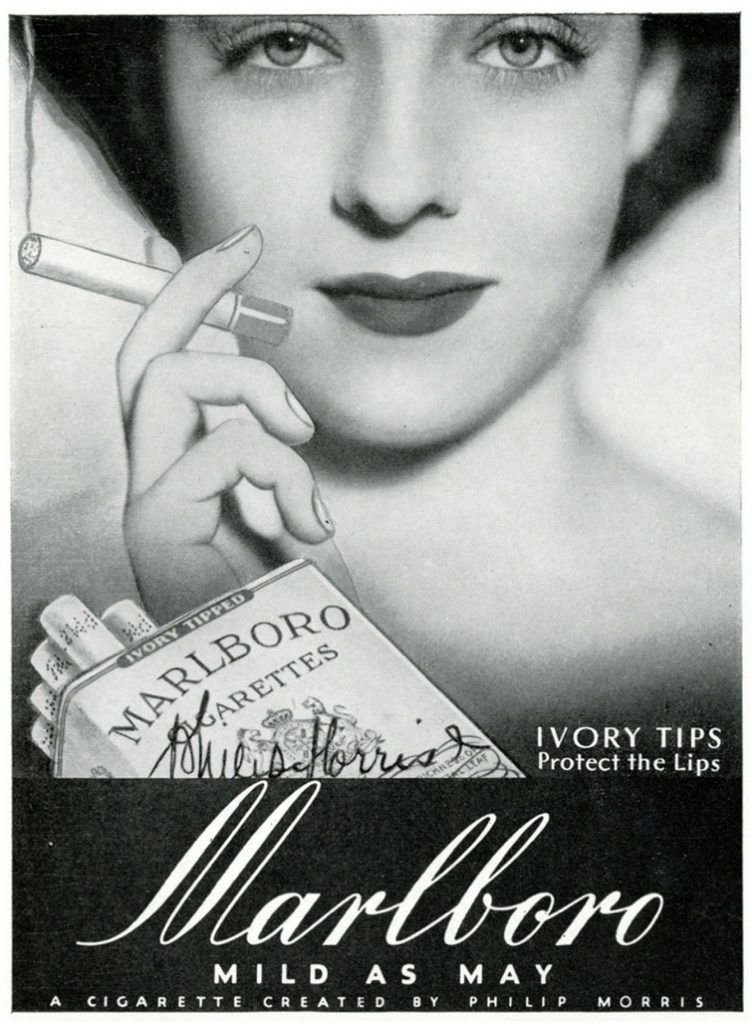 1935-Ivory-Tips-protect-the-lips.-Marlboro-Mild-as-May-7