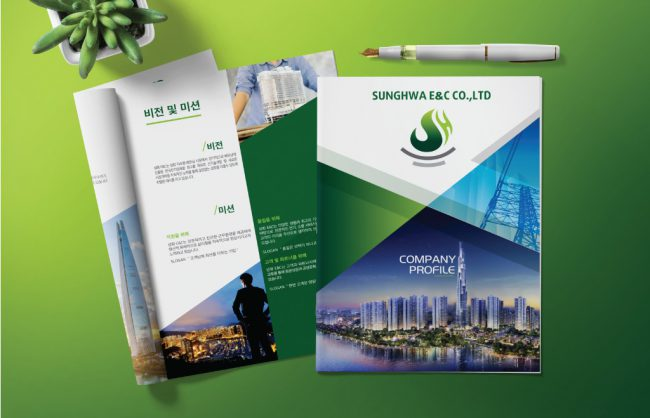 Mẫu hồ sơ năng lực công ty xây dựng Sung Hwa