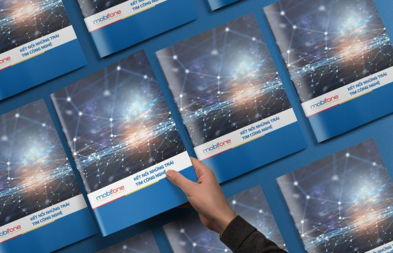 Dự án thiết kế catalogue giới thiệu dịch vụ Mobifone do Adina Việt Nam thực hiện 1