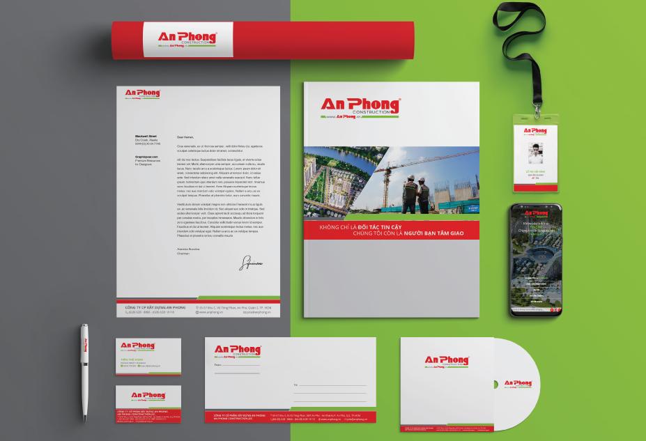 Bộ nhận diện thương hiệu An Phong