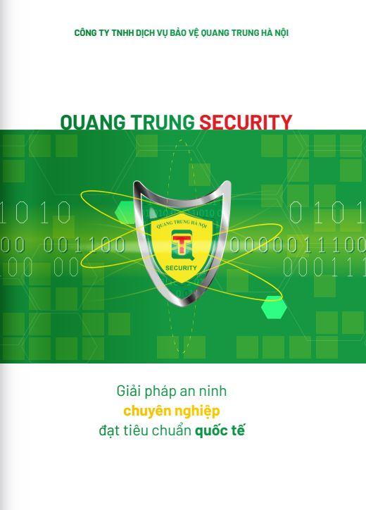 Thiết kế hồ sơ năng lực Quang Trung Security