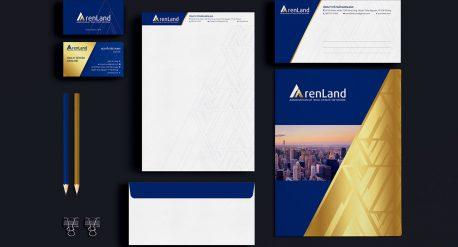 Dự án thiết kế bộ nhận diện Arenland do Adina Việt Nam thực hiện