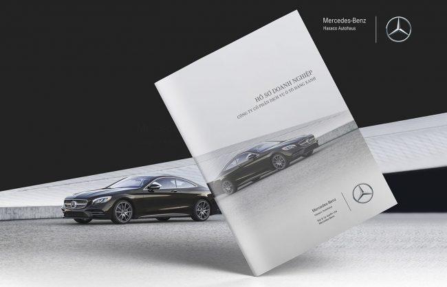Dự án thiết kế profile Mercedes-Benz Haxaco do Adina Việt Nam thực hiện 1