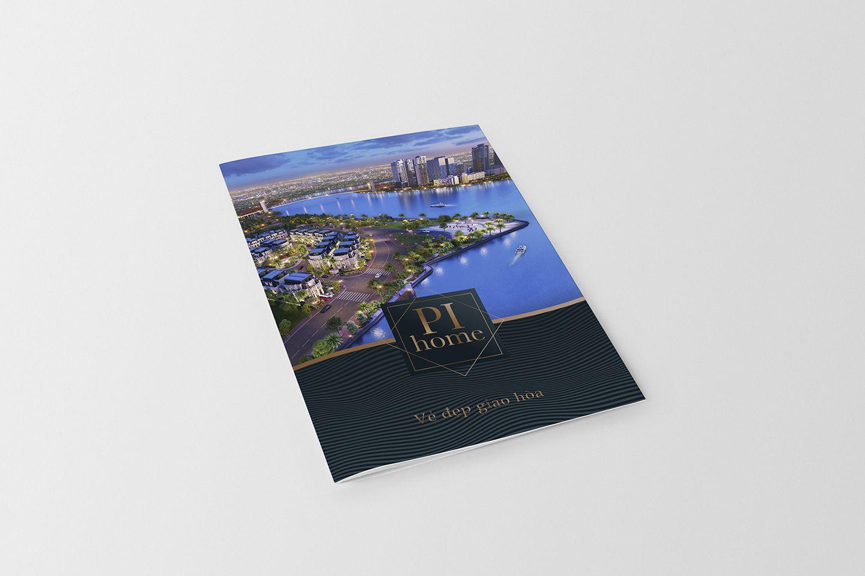 Dự án thiết kế bộ nhận diện thương hiệu dự án bất động sản Pi City 8