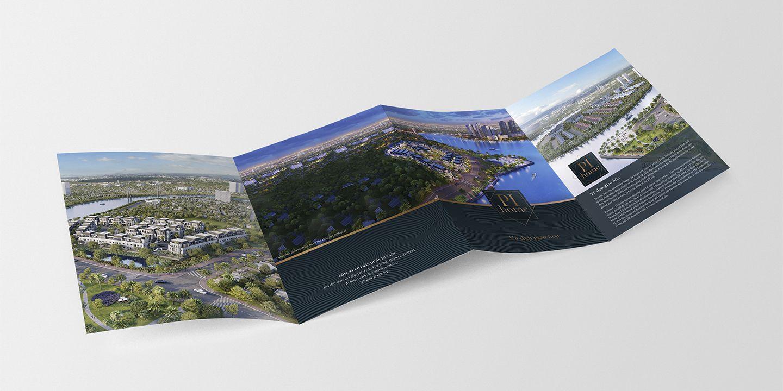 Dự án thiết kế bộ nhận diện thương hiệu dự án bất động sản Pi City 9