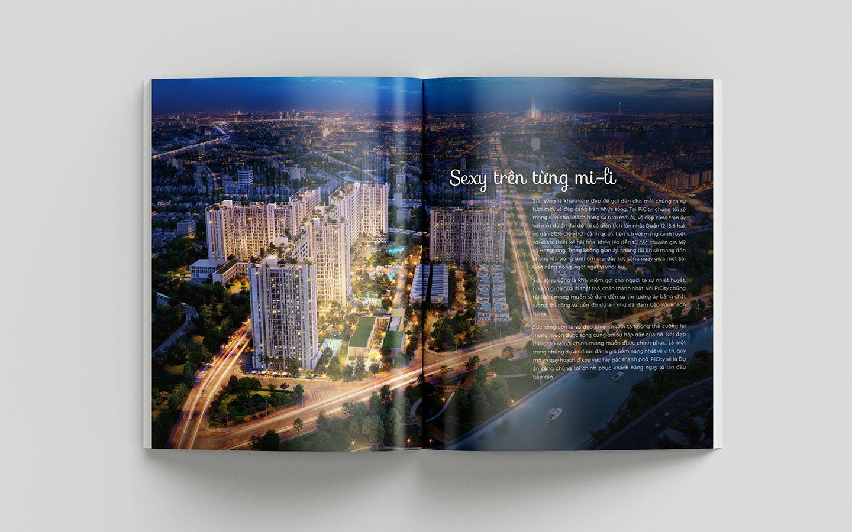 Dự án thiết kế bộ nhận diện thương hiệu dự án bất động sản Pi City 15