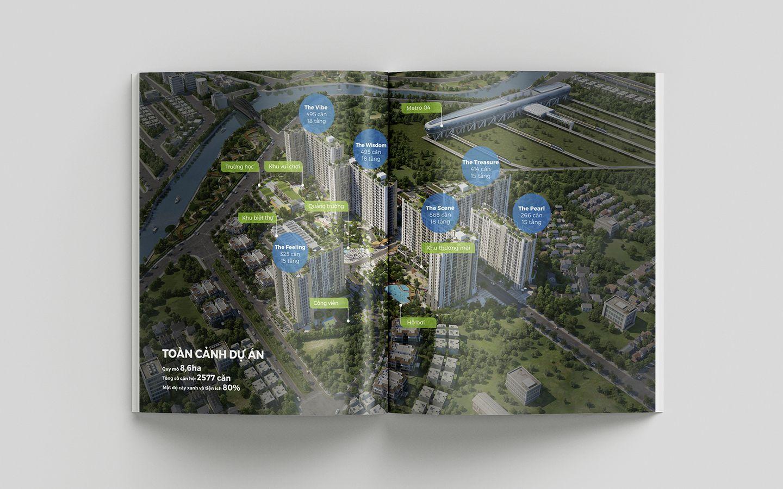 Dự án thiết kế bộ nhận diện thương hiệu dự án bất động sản Pi City 16