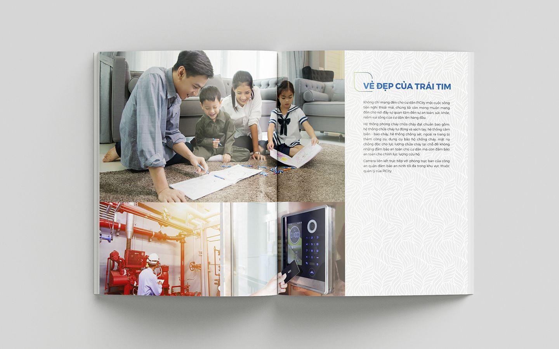 Dự án thiết kế bộ nhận diện thương hiệu dự án bất động sản Pi City 22