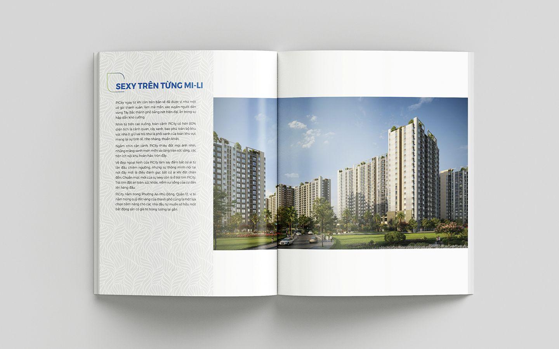 Dự án thiết kế bộ nhận diện thương hiệu dự án bất động sản Pi City 23