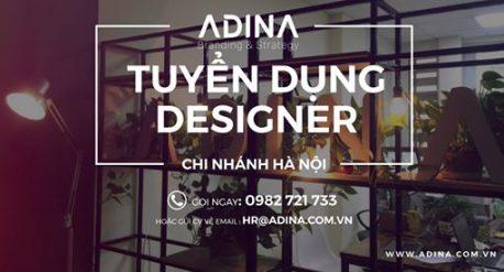 Adina tuyển dụng nhân viên thiết kế