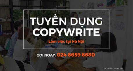 Tuyển dụng copy writer tại Adina
