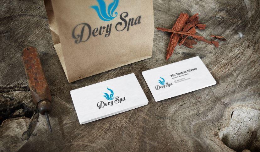 Thiết kế bộ nhận diện thương hiệu Devy Spa