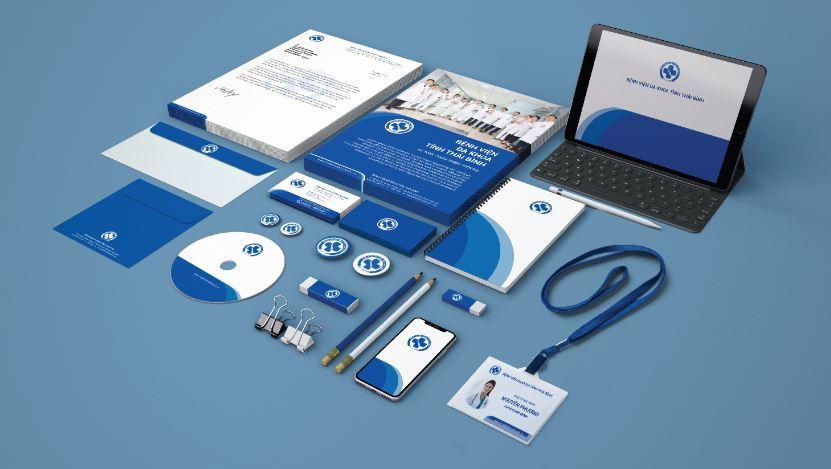 Thiết kế bộ nhận diện thương hiệu bệnh viện Đa khoa tỉnh Thái Bình