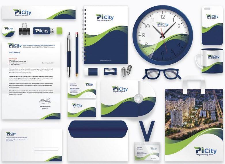Thiết kế bộ nhận diện thương hiệu dự án bất động sản PICITY