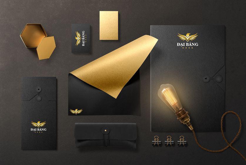 Thiết kế bộ nhận diện thương hiệu khách sạn Đại Bàng
