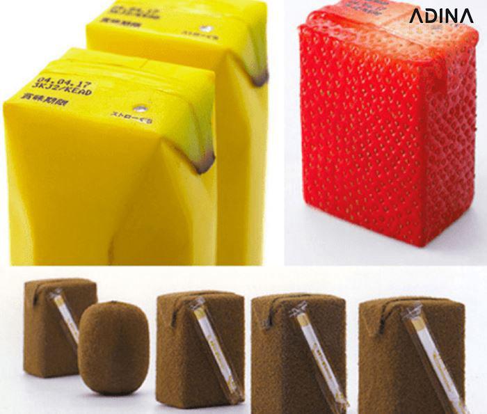 Bao bì ấn tượng mang màu sác của hương vị sản phẩm (Nguồn: Naoto Fukusawa)