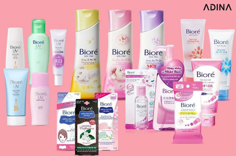 Biore chú trọng phát triển bao bì sản phẩm trong bộ nhận diện thương hiệu của hãng