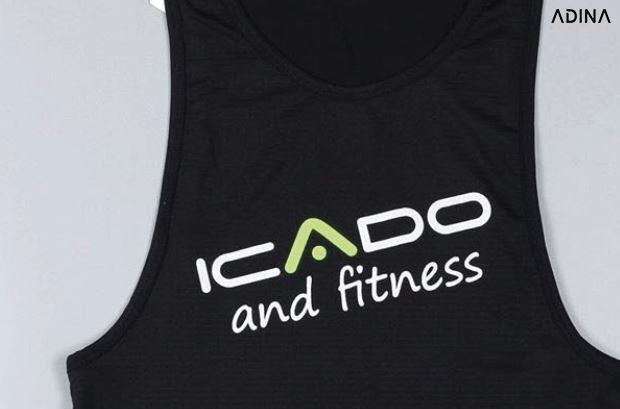 Sản phẩm áo tập Icado mang đậm tính cách thương hiệu