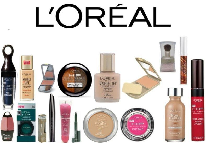 Nhận diện thương hiệu mỹ phẩm L'Oreal qua từng mẫu sản phẩm